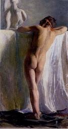 Wojciech Weiss, Rood lint, 1896