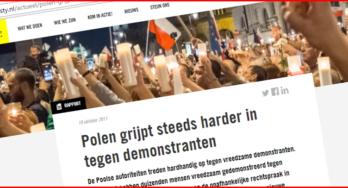 """Amnesty International: """"de Poolse autoriteiten schenden recht op vrije meningsuiting"""""""