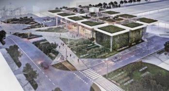 Ontwerp voor nieuwe busstation Lublin