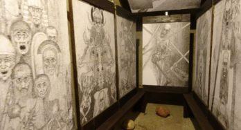 "Tentoonstelling tekeningen Marian Kołodziej: ""Labyrinten. Geheugenprints."""