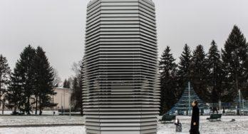 Studio Roosegaarde naar Kraków met de Smog Free Tower