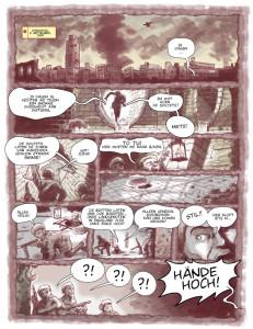 In 'Adelaar en Pegasus' en graphic novel van Pelikaanpers over de Slag om Arnhem droomt Sosabowski over de opstand.