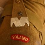 'Poland' op de schouder van het uniform van Sosabowski