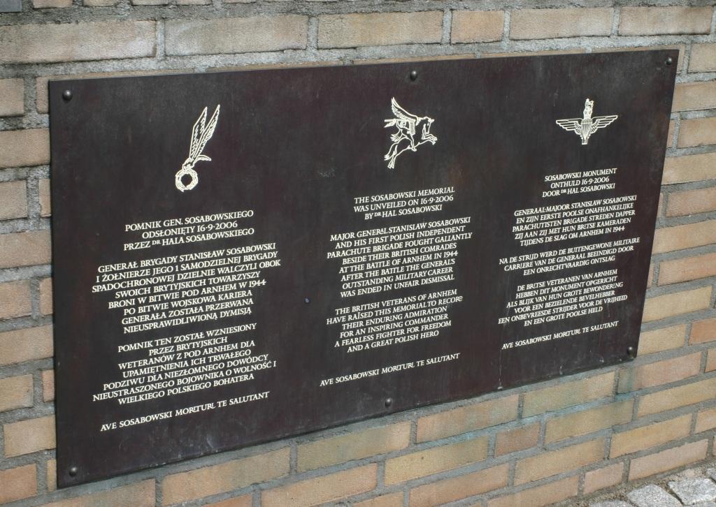 Sosabowski Monument 2
