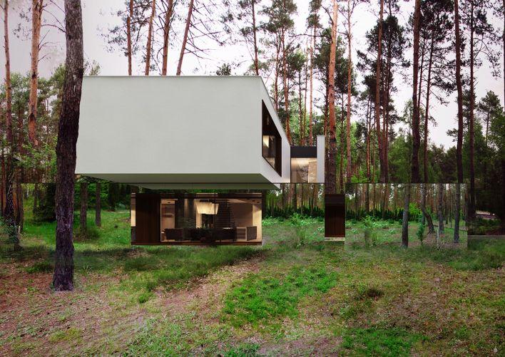 Spiegelhuis Architectuur in Polen Reform Architekt