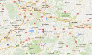 Google Maps Wilamowice