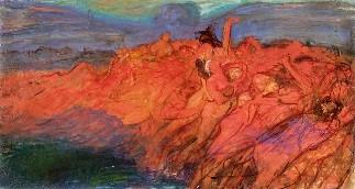 Wojciech Weiss, Obsessie, 1899-1900