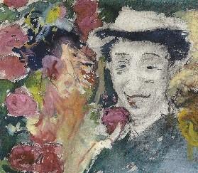 Zelfportret met Appel