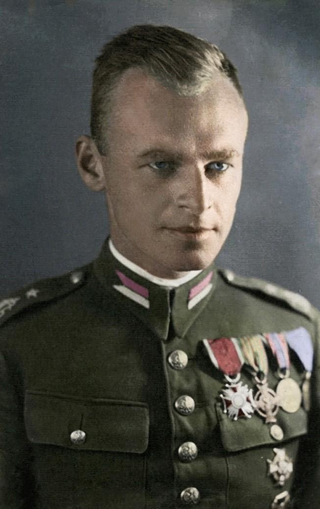 Witold Pilecki rond 1920 (Collectie Zofia and Andrzej Pilecki)