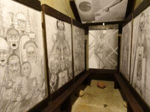 Tentoontstelling tekeningen Marian Kołodziej @ Historyland   Hellevoetsluis   Zuid-Holland   Nederland