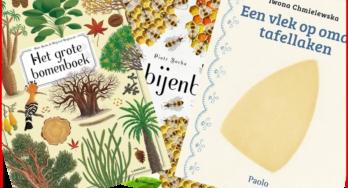 Kinderboeken: Bomen, bijen en oma's tafellaken
