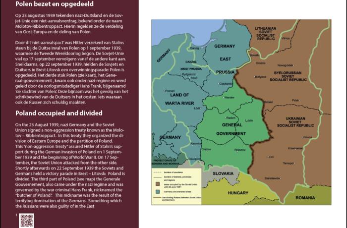 1. Polen bezet en opgedeeld
