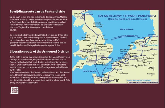 6. 'Bevrijdingsroute' van de Pantserdivisie