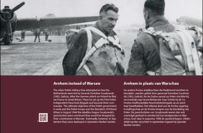 7. Arnhem in plaats van Warschau