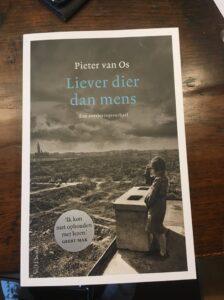 Lezing Pieter van Os over Liever dier dan mens @  boekhandel Blankevoort