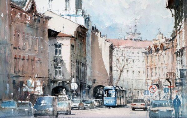 Michał Jasiewicz – De straten van Krakau III