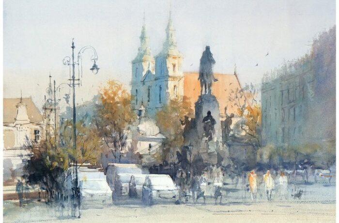 Michał Jasiewicz – De pleinen van Krakau II