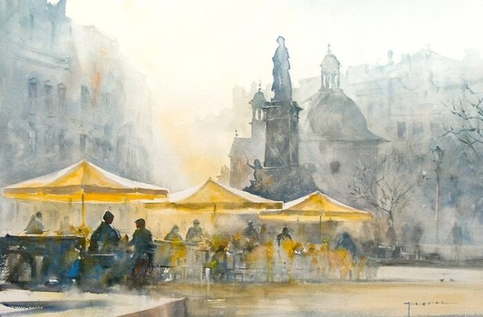 Michał Jasiewicz – De pleinen van Krakau