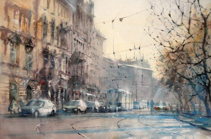 Michał Jasiewicz – De straten van Krakau