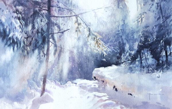 Michał Jasiewicz – Winter in Polen