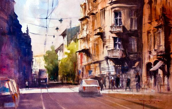 Michał Jasiewicz – De straten van Krakau II