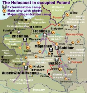 """Lezing over """"concentratie- en vernietigingskampen van de Nazi's op Pools grondgebied"""" @ gemeenschapshuis Erasmus"""