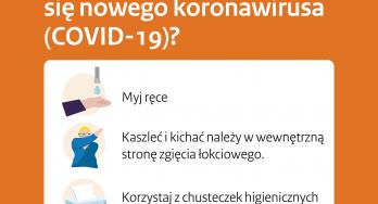 Informatieposter coronavirus COVID-19 rijksoverheid ook in het Pools beschikbaar