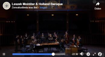 Bekijk concertvideo Earth Particles van Leszek Możdżer en Holland Baroque