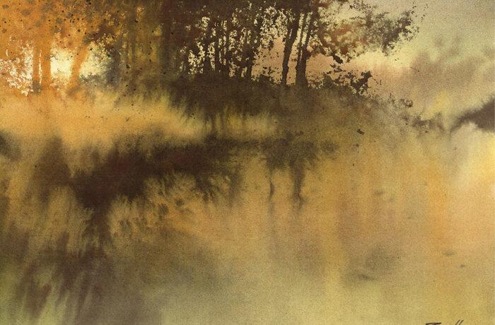 Reflecties in water